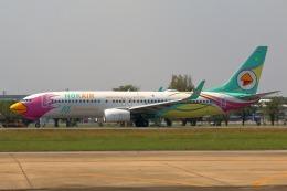 takaRJNSさんが、ドンムアン空港で撮影したノックエア 737-86Jの航空フォト(飛行機 写真・画像)