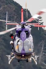 まんぼ しりうすさんが、岐阜基地で撮影した岐阜県防災航空隊 BK117C-2の航空フォト(飛行機 写真・画像)