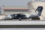 たみぃさんが、新千歳空港で撮影したオーロラ DHC-8-201Q Dash 8の航空フォト(写真)