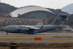 sg-driverさんが、福岡空港で撮影したアメリカ空軍 C-17A Globemaster IIIの航空フォト(写真)