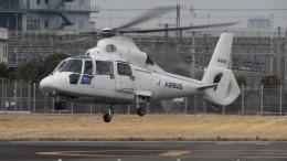 Ocean-Lightさんが、東京ヘリポートで撮影したエアバス・ヘリコプターズ・ジャパン AS365N2 Dauphin 2の航空フォト(飛行機 写真・画像)