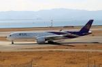 ハピネスさんが、関西国際空港で撮影したタイ国際航空 A350-941の航空フォト(飛行機 写真・画像)