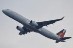 鉄バスさんが、関西国際空港で撮影したフィリピン航空 A321-231の航空フォト(飛行機 写真・画像)