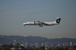 nontan8さんが、ロサンゼルス国際空港で撮影したホライゾン航空 DHC-8-202Q Dash 8の航空フォト(飛行機 写真・画像)