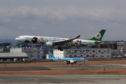 yuu@HKD/RJCHさんが、福岡空港で撮影したエバー航空 A330-302Xの航空フォト(飛行機 写真・画像)
