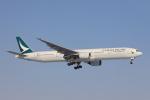 funi9280さんが、新千歳空港で撮影したキャセイパシフィック航空 777-367の航空フォト(写真)