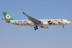 funi9280さんが、新千歳空港で撮影したエバー航空 A330-302Xの航空フォト(飛行機 写真・画像)