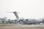 *mika*さんが、横田基地で撮影したアメリカ空軍 C-17A Globemaster IIIの航空フォト(写真)