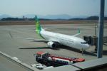 FRTさんが、広島空港で撮影した春秋航空日本 737-8ALの航空フォト(飛行機 写真・画像)
