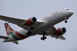 planetさんが、スワンナプーム国際空港で撮影したケニア航空 787-8 Dreamlinerの航空フォト(飛行機 写真・画像)