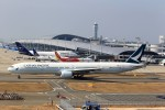 T.Sazenさんが、関西国際空港で撮影したキャセイパシフィック航空 777-367の航空フォト(飛行機 写真・画像)