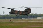 tsubameさんが、築城基地で撮影した陸上自衛隊 CH-47JAの航空フォト(写真)
