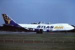tassさんが、成田国際空港で撮影したアトラス航空 747-230B(SF)の航空フォト(飛行機 写真・画像)