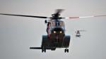 Ocean-Lightさんが、東京ヘリポートで撮影した警視庁 S-92Aの航空フォト(写真)