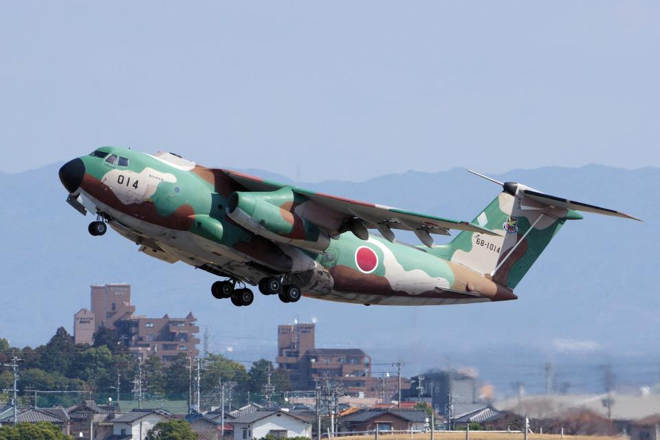 yabyanさんの航空自衛隊 Kawasaki C-1 (68-1014) 航空フォト
