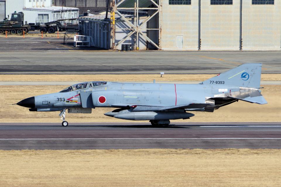 yabyanさんの航空自衛隊 Mitsubishi F-4EJ Phantom II (77-8393) 航空フォト