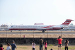 BENKIMAN-ENLさんが、高雄国際空港で撮影した遠東航空 MD-82 (DC-9-82)の航空フォト(写真)