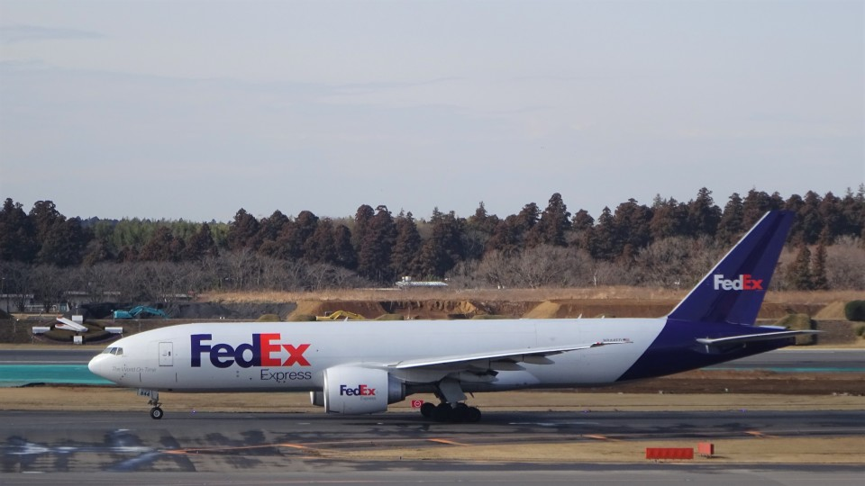 KAZFLYERさんのフェデックス・エクスプレス Boeing 777-200 (N844FD) 航空フォト