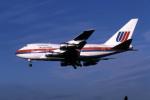 Gambardierさんが、伊丹空港で撮影したユナイテッド航空 747SP-21の航空フォト(写真)