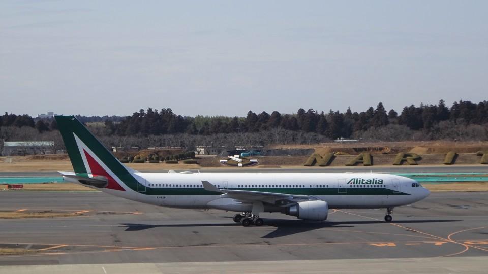 KAZFLYERさんのアリタリア航空 Airbus A330-200 (EI-EJP) 航空フォト
