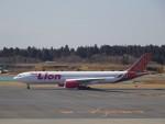 KAZFLYERさんが、成田国際空港で撮影したタイ・ライオン・エア A330-343Xの航空フォト(飛行機 写真・画像)