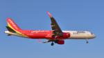 パンダさんが、成田国際空港で撮影したベトジェットエア A321-211の航空フォト(飛行機 写真・画像)