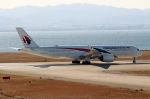 ハピネスさんが、関西国際空港で撮影したマレーシア航空 A350-941の航空フォト(飛行機 写真・画像)