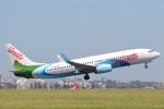 安芸あすかさんが、シドニー国際空港で撮影したエア・バヌアツ 737-8SHの航空フォト(写真)