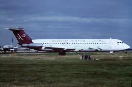 tassさんが、ロンドン・ガトウィック空港で撮影したブリティッシュ・ワールド・エアラインズ 111-531FS One-Elevenの航空フォト(飛行機 写真・画像)