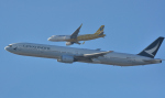 kenko.sさんが、成田国際空港で撮影したキャセイパシフィック航空 777-367の航空フォト(写真)