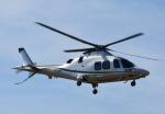 チャーリーマイクさんが、東京ヘリポートで撮影したノエビア AW109SP GrandNewの航空フォト(写真)