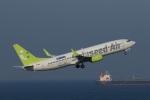 なぞたびさんが、中部国際空港で撮影したソラシド エア 737-86Nの航空フォト(写真)