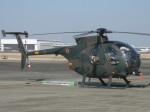 くまのんさんが、名古屋飛行場で撮影した陸上自衛隊 OH-6Dの航空フォト(写真)