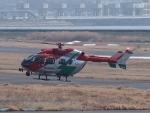 S51KAさんが、岡南飛行場で撮影した岡山市消防航空隊 BK117C-2の航空フォト(写真)