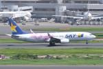 kuro2059さんが、羽田空港で撮影したスカイマーク 737-86Nの航空フォト(写真)