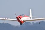 フォークリフト操縦士さんが、角田滑空場で撮影した宮城県航空協会 SF-28A Tandem Falkeの航空フォト(写真)