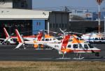 チャーリーマイクさんが、東京ヘリポートで撮影した朝日航洋 430の航空フォト(写真)
