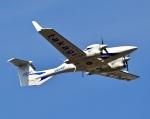 くれないさんが、高松空港で撮影した日本法人所有 DA42 NG TwinStarの航空フォト(写真)