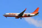 szkkjさんが、成田国際空港で撮影したチェジュ航空 737-8ASの航空フォト(写真)