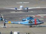 ランチパッドさんが、名古屋飛行場で撮影した福岡県警察 412EPの航空フォト(写真)