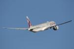 安芸あすかさんが、シドニー国際空港で撮影したカタール航空 777-3DZ/ERの航空フォト(写真)