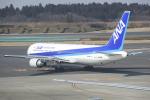 fukucyanさんが、成田国際空港で撮影した全日空 767-381/ERの航空フォト(飛行機 写真・画像)