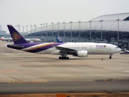 PW4090さんが、関西国際空港で撮影したタイ国際航空 777-2D7/ERの航空フォト(飛行機 写真・画像)