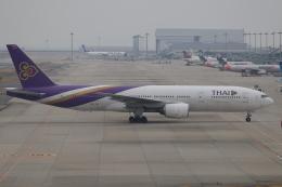 水月さんが、関西国際空港で撮影したタイ国際航空 777-2D7/ERの航空フォト(飛行機 写真・画像)