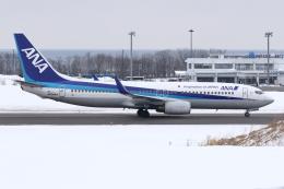 kinsanさんが、紋別空港で撮影した全日空 737-881の航空フォト(飛行機 写真・画像)