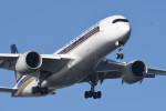 kuro2059さんが、羽田空港で撮影したシンガポール航空 A350-941XWBの航空フォト(写真)