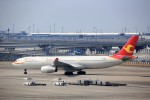 T.Sazenさんが、関西国際空港で撮影した天津航空 A330-343Eの航空フォト(飛行機 写真・画像)