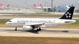 ターキッシュ・エアラインズ Airbus A319 (TC-JLU)  航空フォト   by 誘喜さん  撮影2018年05月01日%s