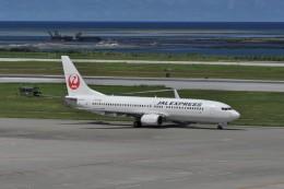 kumagorouさんが、那覇空港で撮影したJALエクスプレス 737-846の航空フォト(写真)
