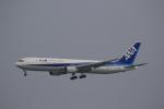 ☆ライダーさんが、成田国際空港で撮影した全日空 767-381/ERの航空フォト(飛行機 写真・画像)